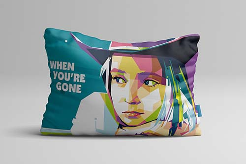 Bantal WPAP pop art